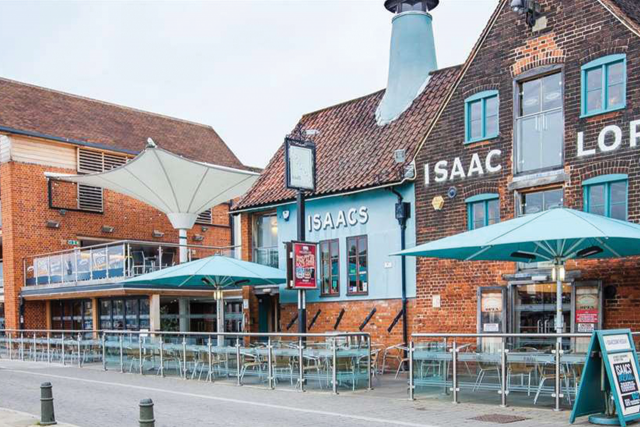 Charge Point Now Available at Isaacs on the Quay