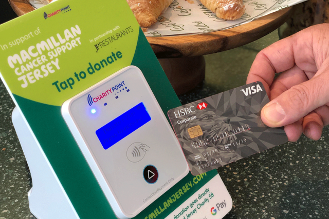 Macmillan Contactless Giving Charity Points Now Available at Café Ube