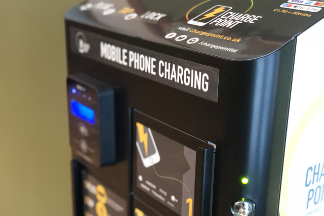 Contactless Charge Point Stations Now Live